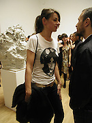 Rebecca Warren, Turner Prize 2006 private view of an exhibition of work by this year's shortlist (Rebecca Warren, Tomma Abts, Phil Collins and Mark Titchner) for visual arts prize. Tate Brittain. London 3 October 2006. -DO NOT ARCHIVE-© Copyright Photograph by Dafydd Jones 66 Stockwell Park Rd. London SW9 0DA Tel 020 7733 0108 www.dafjones.com