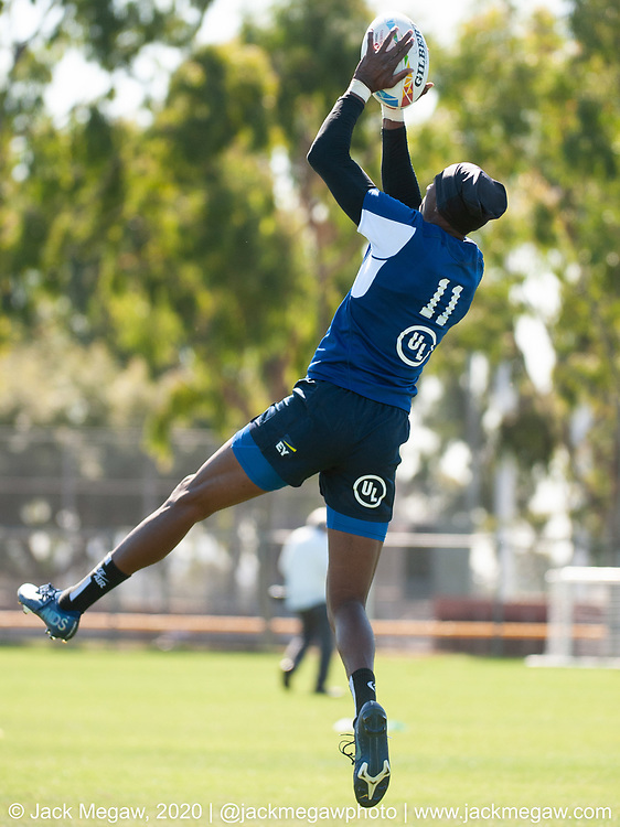 The United States take part in an open training session at Dignity Sports Health Park in Carson, California. February 26, 2019. <br /> <br /> © Jack Megaw, 2020