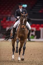 Jebsen Lilann (NOR) - Pro Set<br /> Grand Prix - Reem Acra FEI World Cup Dressage Qualifier - The London International Horse Show Olympia - London 2012<br /> © Hippo Foto - Jon Stroud