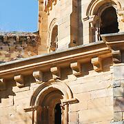 Ruins of the Santa María de Moreruela monastery.
