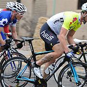 Riders attacking in the 2011 UA Criterium bicycle race, Tucson, Arizona. Bike-tography by Martha Retallick.