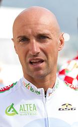 01.07.2012, Innsbruck, AUT, 64. Oesterreich Rundfahrt, 1. Etappe, EZF Innsbruck, im Bild Stefano Garzelli (ITA) during the 64rd Tour of Austria, Stage 1, Individual time trial in Innsbruck, Austria on 2012/07/01