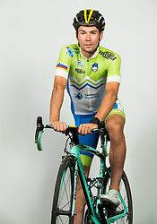 Primoz Roglic during photo session of Slovenian Cycling Team for 2018 UCI Road World Championships Innsbruck, on September 17, in Spodnji Brnik, Slovenia. Photo by Vid Ponikvar / Sportida