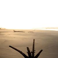 Central America, Costa Rica, Playa Esterillos Este. Sunset scene at Playa Esterillos Este from Alma del Pacifico Hotel.