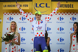 July 8, 2018 - La Roche-Sur-Yon, France - SMITH Dion (NZL) of Wanty - Groupe Gobert during stage 2 of the 105th edition of the 2018 Tour de France cycling race, a stage of 182.5 kms between Mouilleron - Saint-Germain and La Roche-Sur-Yon on July 08, 2018 in La Roche-Sur-Yon, France, 8/07/18 (Credit Image: © Panoramic via ZUMA Press)