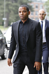 © Licensed to London News Pictures. 04/06/2018. Staines, UK. Crystal Palace football club captain Jason Puncheon arrives at Staines Magistrates Court. The footballer is on trial after an altercation outside a nightclub in Reigate in the early hours of December 17th, 2017.Photo credit: Peter Macdiarmid/LNP