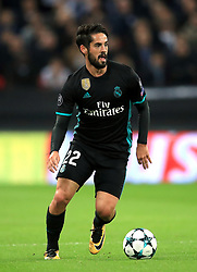 Real Madrid's Isco during the UEFA Champions League, Group H match at Wembley Stadium, London. PRESS ASSOCIATION Photo. Picture date: Wednesday November 1, 2017. See PA story SOCCER Tottenham. Photo credit should read: Mike Egerton/PA Wire