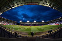 Rugby League - 2020 Super League - Round 13 - Warrington Wolves vs Catalan Dragon<br /> <br /> A general stadium view at the Halliwell Jones Stadium, Warrington<br /> <br /> <br /> COLORSPORT/TERRY DONNELLY