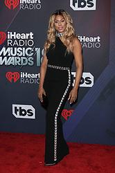 2018 iHeartRadio Music Awards - Arrivals. 11 Mar 2018 Pictured: Laverne Cox. Photo credit: Jaxon / MEGA TheMegaAgency.com +1 888 505 6342