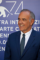 Festival director Alberto Barbera at the premiere of the film Marvin at the 74th Venice Film Festival, Sala Darsena on Sunday 3 September 2017, Venice Lido, Italy.
