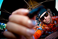 Roberd de Wilde (NED) signs autographs at the UCI BMX Supercross World Cup