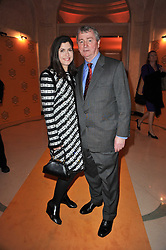 STEPHEN & KIMBERLEY QUINN at the 38th Veuve Clicquot Business Woman Award held at Claridge's, Brook Street, London W1 on 28th March 2011.