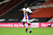 Mamadou Sakho (12) of Crystal Palace during the EFL Cup match between Bournemouth and Crystal Palace at the Vitality Stadium, Bournemouth, England on 15 September 2020.