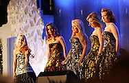 The Celtic Women perform at the lighting ceremony for the National Christmas Tree.  Photo by Dennis Brack