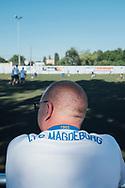 28.06.2019 Magdeburg, 1.FCM-Fan.<br /> <br /> md2025.de<br /> offizielles Bild im 1. Bid-Book<br /> Bewerbung Magdeburgs zur Kulturhauptstadt 2025<br /> <br /> © Harald Krieg/Agentur Focus