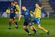 Iain Vigurs of Ross County and Murray Davidson of St Johnstone during the Scottish Premiership match between Ross County FC and St Johnstone FC at the Global Energy Stadium, Dingwall, Scotland on 2 January 2021