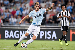 August 13, 2017 - Rome, Italy - Luis Alberto of Lazio during the Italian Supercup Final match between Juventus and Lazio at Stadio Olimpico, Rome, Italy on 13 August 2017. (Credit Image: © Giuseppe Maffia/NurPhoto via ZUMA Press)