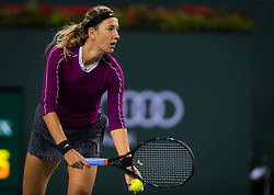 March 8, 2019 - Indian Wells, USA - Victoria Azarenka of Belarus in action during her second-round match at the 2019 BNP Paribas Open WTA Premier Mandatory tennis tournament (Credit Image: © AFP7 via ZUMA Wire)