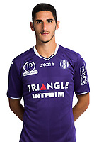 Yann Bodiger during Photoshooting of Toulouse for new season 2017/2018 on September 29, 2017 in Bordeaux, France. <br /> Photo : TFC / Icon Sport
