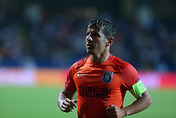 August 16, 2017 - Medipol Basaksehir's Emre Belozoglu during Medipol Basaksehir - Sevilla UEFA Champions League Play - Off 1st round game at Istanbul Fatih Terim Stadium, 16th August, 2017. (Credit Image: © Tolga Adanali/Depo Photos via ZUMA Wire)