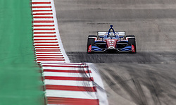 March 23, 2019 - Austin, Texas, U.S. - TONY KANAAN (14) of Brazil goes through the turns during practice for the INDYCAR Classic at Circuit Of The Americas in Austin, Texas. (Credit Image: © Walter G Arce Sr Asp Inc/ASP)