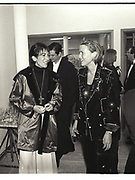 GHISLAINE MAXWELL, INDIA HICKS,  NY Academy of Art benefit. Manhattan 1995
