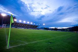 Stadium Velenje at 1st Round of Europe League football match between NK Rudar Velenje (Slovenia) and Trans Narva (Estonia), on July 9 2009, in Velenje, Slovenia. Rudar won 3:1 and qualified to 2nd Round. (Photo by Vid Ponikvar / Sportida)