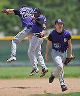 Keystone vs Manchester in a district semifinal game in Parma on May 21, 2011.