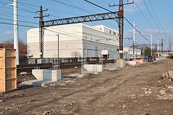 Construction Progress Railroad Station Fairfield Metro Center - Site visit 5 of once per month Chronological Documentation.