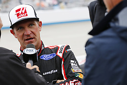 May 6, 2018 - Dover, Delaware, United States of America - Clint Bowyer (14) hangs out on pit road during a rain delay for the AAA 400 Drive for Autism at Dover International Speedway in Dover, Delaware. (Credit Image: © Chris Owens Asp Inc/ASP via ZUMA Wire)