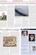 Göbekli Tepe - Lucknow Tribune Sept 2013. Photos and article.