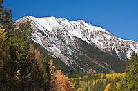 12,941 ft. Star Mountain of the Sawatch Mountains, Colorado.