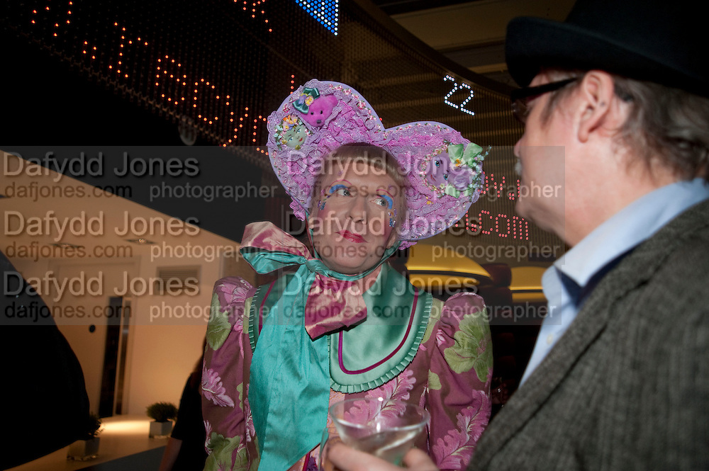 GRAYSON PERRY;  attend The Galleries of Modern London launch party at the Museum of London on May 27, 2010 in London. <br /> -DO NOT ARCHIVE-© Copyright Photograph by Dafydd Jones. 248 Clapham Rd. London SW9 0PZ. Tel 0207 820 0771. www.dafjones.com.