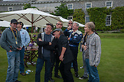 CHRIS LAYTON; BRIAN JOHNSON AC DC, The Cartier Style et Luxe during the Goodwood Festivlal of Speed. Goodwood House. 1 July 2012.