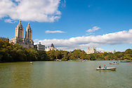 Central Park is a large public, urban park in New York City, with about twenty-five million visitors annually. Most of the areas immediately adjacent to the park are known for impressive buildings and valuable real estate. Central Park has been a National Historic Landmark since 1963
