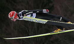 Michael Uhrmann (GER) at Qualification's 1st day of 32nd World Cup Competition of FIS World Cup Ski Jumping Final in Planica, Slovenia, on March 19, 2009. (Photo by Vid Ponikvar / Sportida)