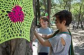 Yarn Bombing Chapultepec