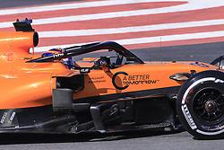 February 18, 2019 - Barcelona, Barcelona, Spain - Carlos Sainz Jr from Spain with 55 Mclaren F1 Team - Renault MCL34 in action during the Formula 1 2019 Pre-Season Tests at Circuit de Barcelona - Catalunya in Montmelo, Spain on February 18. (Credit Image: © Xavier Bonilla/NurPhoto via ZUMA Press)