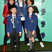 Carrie Grant, Jamie Campbell Bower and Talia Grant attend The Diana Award anti-bullying week at Alexandra Palace on 12 November 2018, London, UK.