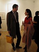 William de Quetteville and Valerie Shields. Ellen Cantor: Crazy Treasure Hunt, Anne Faggionato,<br />© Copyright Photograph by Dafydd Jones 66 Stockwell Park Rd. London SW9 0DA Tel 020 7733 0108 www.dafjones.com
