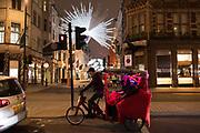 Pedicab, London 15 November 2018