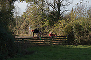 Cambridge University Drag hounds meet. Great Gidding, 13 November 2016