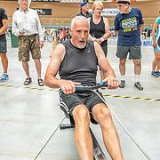 2:00 PM- Grassroots Trust #26- Men?s 500m Masters D, E,F<br /> <br /> NZ Indoor Champs, raced at Avanti Drome, Cambridge, New Zealand, Saturday 23rd November 2019 © Copyright Steve McArthur / @rowingcelebration www.rowingcelebration.com