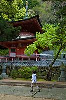 Yakuri-ji is a Buddhist temple and the 85th Fudasho on the Shikoku Pilgrimage to 88 Holy Sites in Takamatsu, Kagawa, Japan.