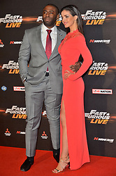 © Licensed to London News Pictures. 19/01/2018. London, UK. ELYSIA WREN attends the world premiere of Fast & Furious live show at the O2. Cars will perform stunts and scenes capturing the spirit of the film series. Photo credit: Ray Tang/LNP
