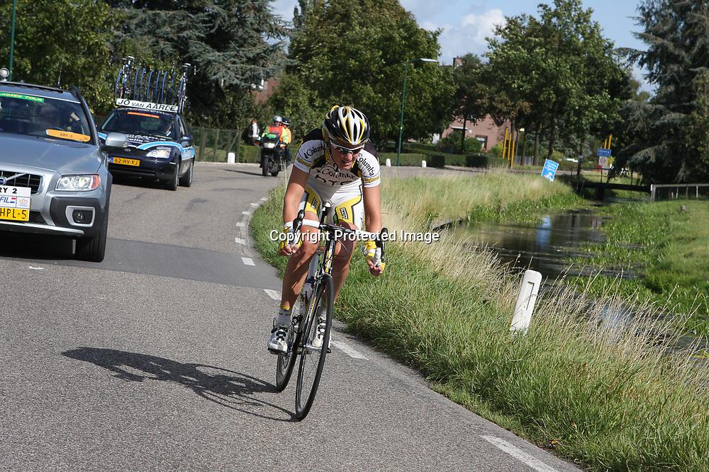 Ladiestour 2009 Nieuwegein<br /> Chantal Beltman in haar laatste solo als wielrenster