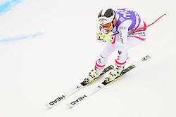 January 19, 2018 - Cortina D'Ampezzo, Dolimites, Italy - Dajana Dengscherz of Austria competes  during the Downhill race at the Cortina d'Ampezzo FIS World Cup in Cortina d'Ampezzo, Italy on January 19, 2018. (Credit Image: © Rok Rakun/Pacific Press via ZUMA Wire)