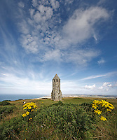 Summer skies over the pepperpot, Isle of Wight