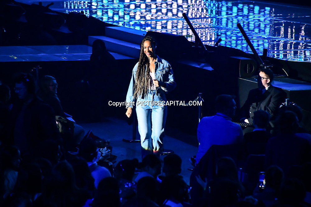 Presenter Leona Lewis at 2020 WE Day UK at Wembley Arena, London, Uk 4 March 2020.