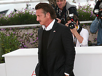 Sean Penn at the HAÏTI CARNAVAL IN CANNES photocall at the 65th Cannes Film Festival. Friday 18th May 2012 in Cannes Film Festival, France.